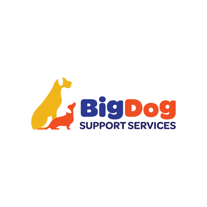 Big Dog Support Services Towoomba Logo Design | FMSTUDIOS