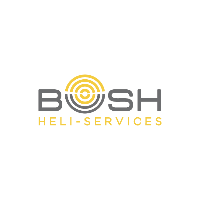 Bush Heli-Services Logo Design | FMSTUDIOS