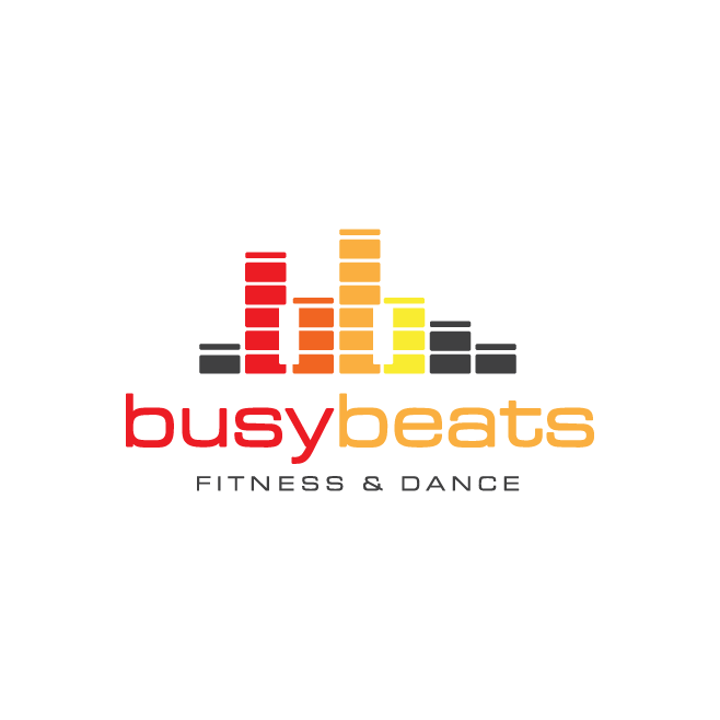 Busy Beats Fitness & Dance Logo Design | FMSTUDIOS