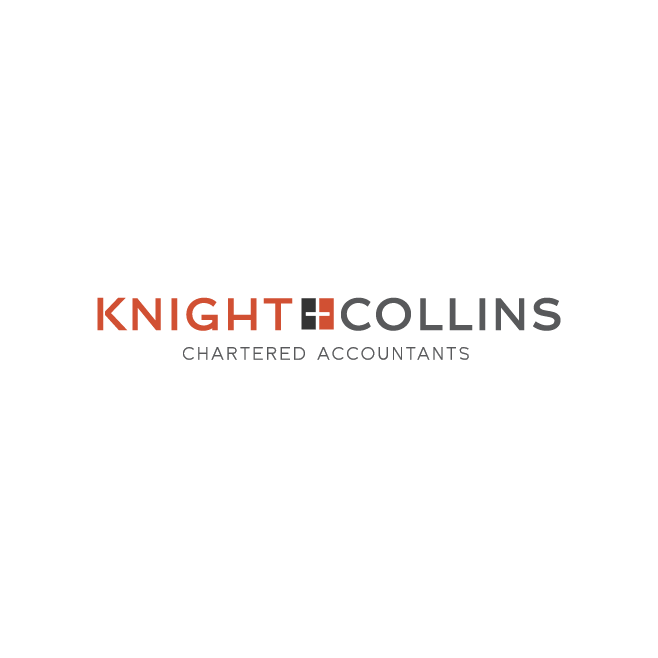 Knight + Colins Chartered Accountants Rockhampton Logo Design | FMSTUDIOS