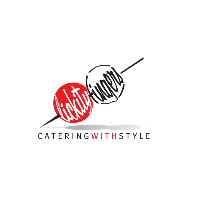Lickity Fingers - Catering With Style Rockhampton Logo Design | FMSTUDIOS