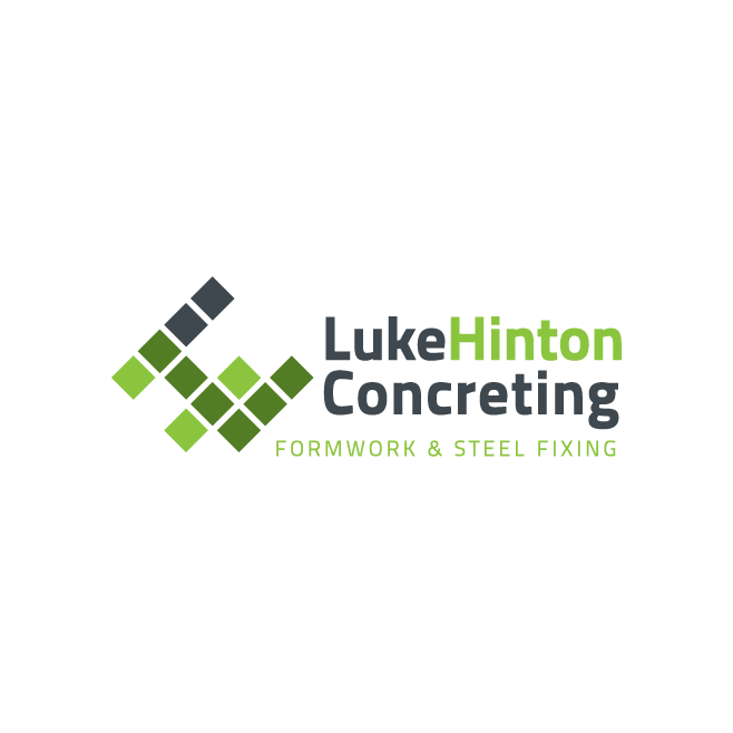 Luke Hinton Concreting Emu Park Logo Design | FMSTUDIOS