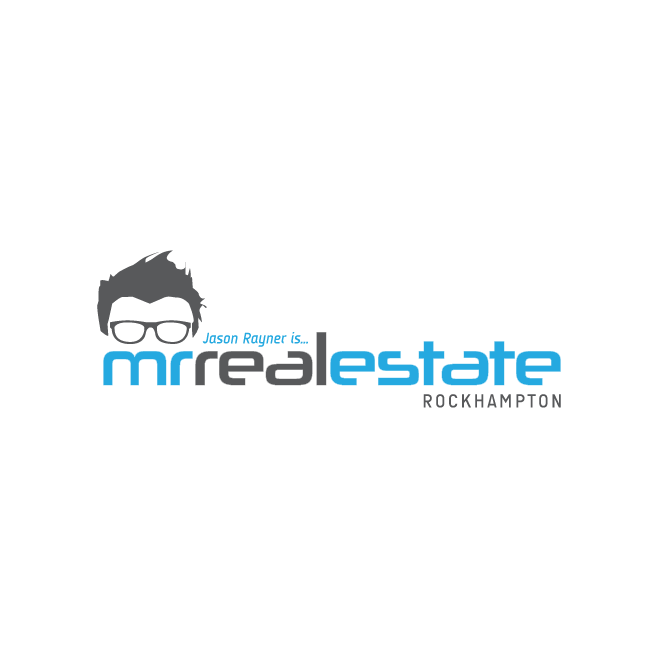 Mr Real Estate Rockhampton Logo Design | FMSTUDIOS