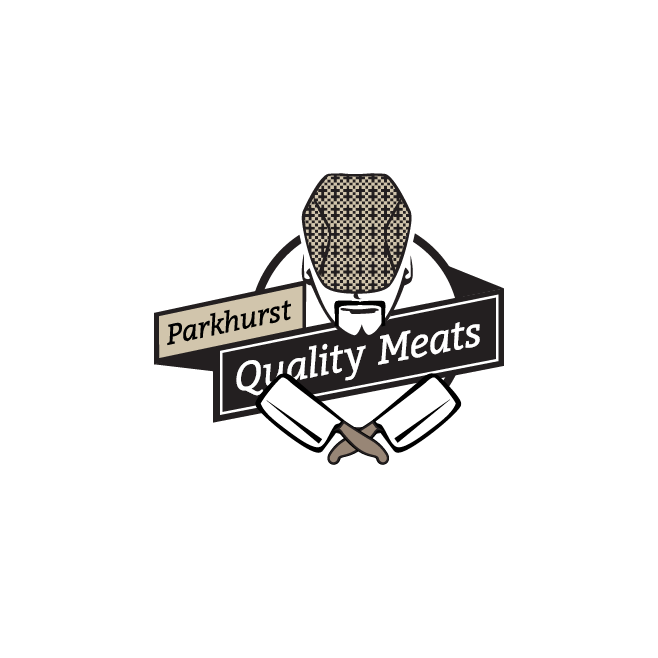 Parkhurst Quality Meats North Rockhampton Business Logo Design | FMSTUDIOS