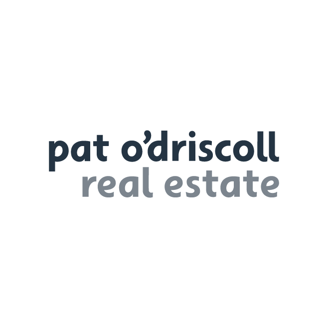 Pat O'Driscoll Real Estate Rockhampton Business Logo Design | FMSTUDIOS