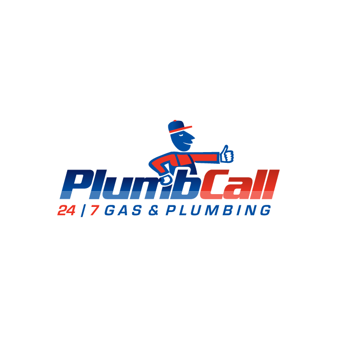 Plumb Call - Gas & Plumbing Rockhampton, Yeppoon, Gladstone, Bundaberg, Hervey Bay, Maryborough Logo Design | FMSTUDIOS