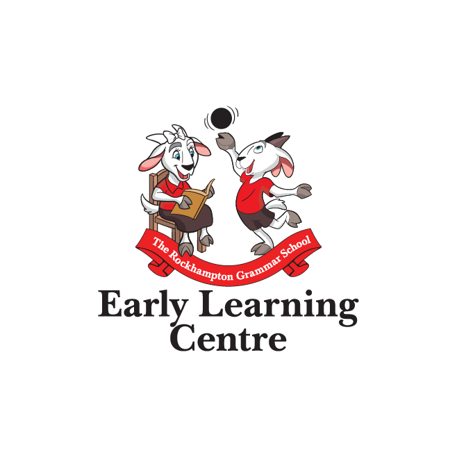 The Rockhampton Grammar School Early Learning Centre Logo Design | FMSTUDIOS
