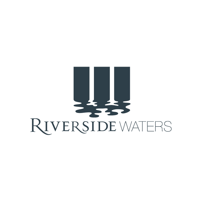 Riverside Waters North Rockhampton Logo Design | FMSTUDIOS