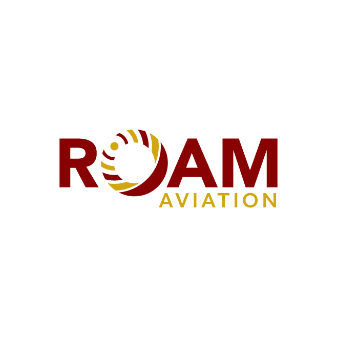 ROAM Aviation Logo Design | FMSTUDIOS