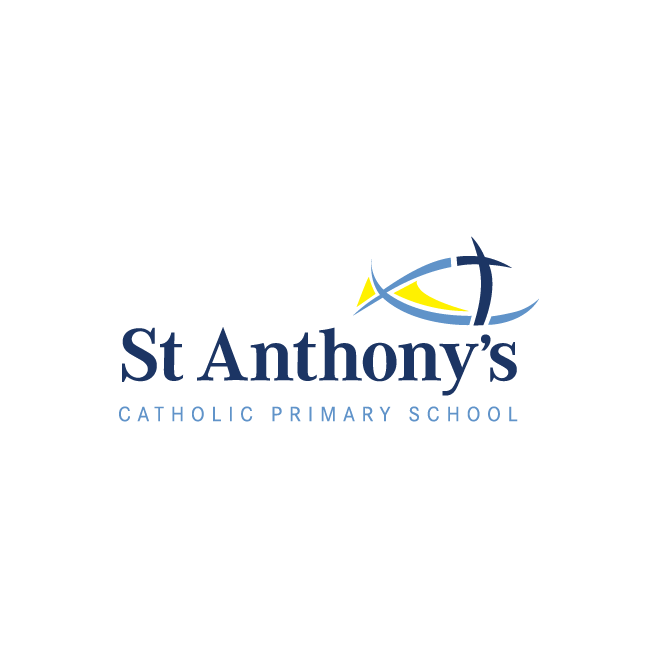St Anthon's Catholic Primary School North Rockhampton Logo Design | FMSTUDIOS