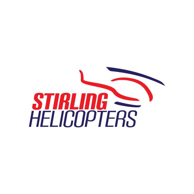Stirling Helicopters Dululu Business Logo Design | FMSTUDIOS