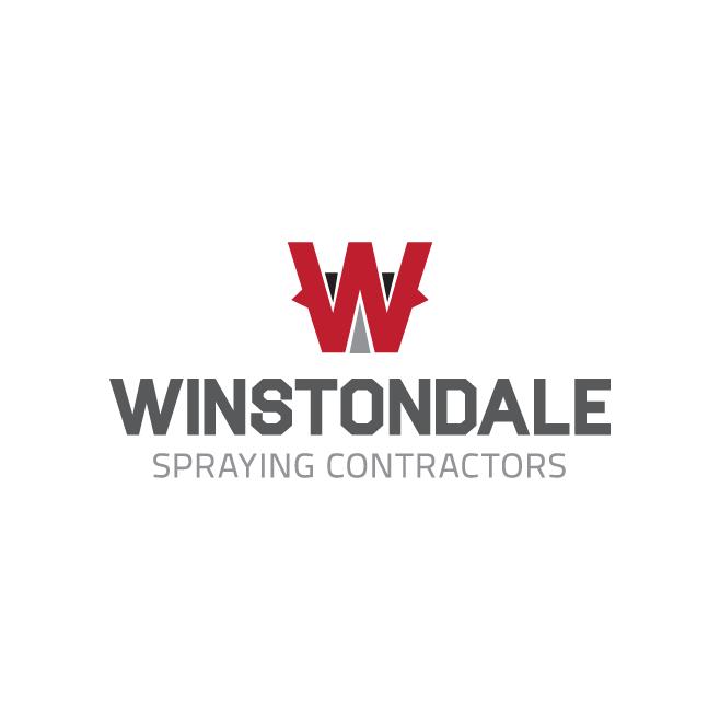 Winstondale Spraying Contractors Rockhampton Business Logo Design | FMSTUDIOS