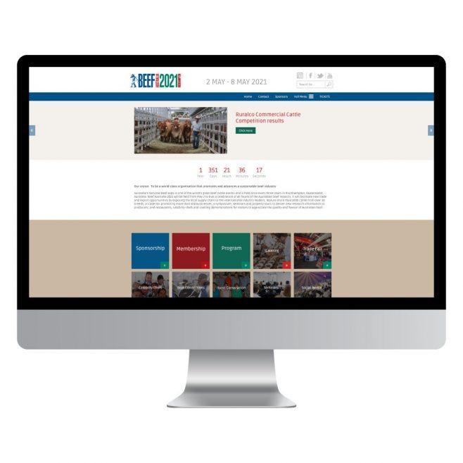 Beef Australia Rockhampton, CMS website design | FMSTUDIOS