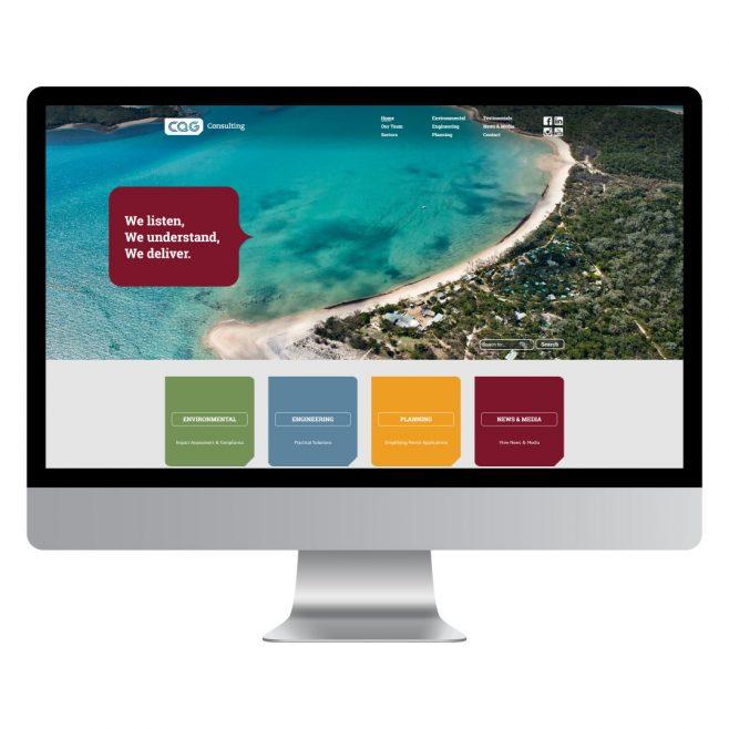 CQG Consulting Rockhampton, Gladstone, Brisbane, Mackay, CMS website design | FMSTUDIOS