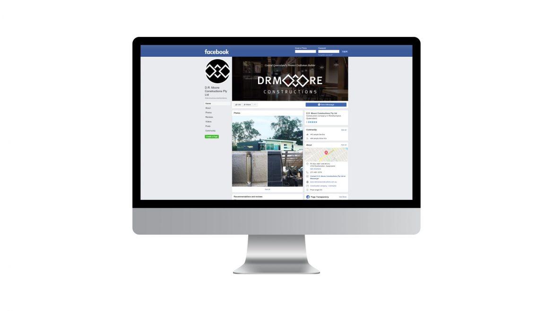 DR Moore Constructions | Digital & Social