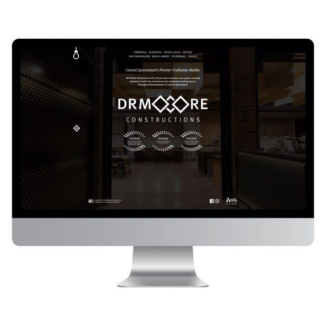 DR Moore Constructions Web Design | FMSTUDIOS