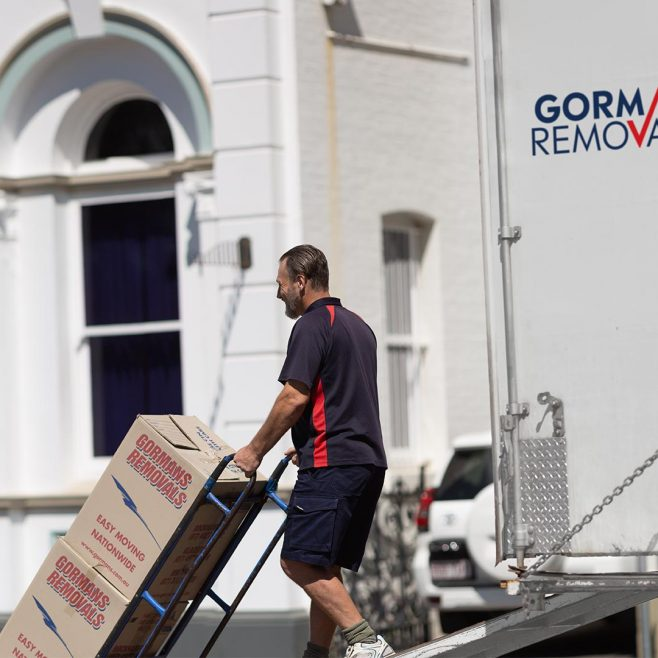 Gormans Removals Rockhampton, on-site commercial photography Photography | FMSTUDIOS