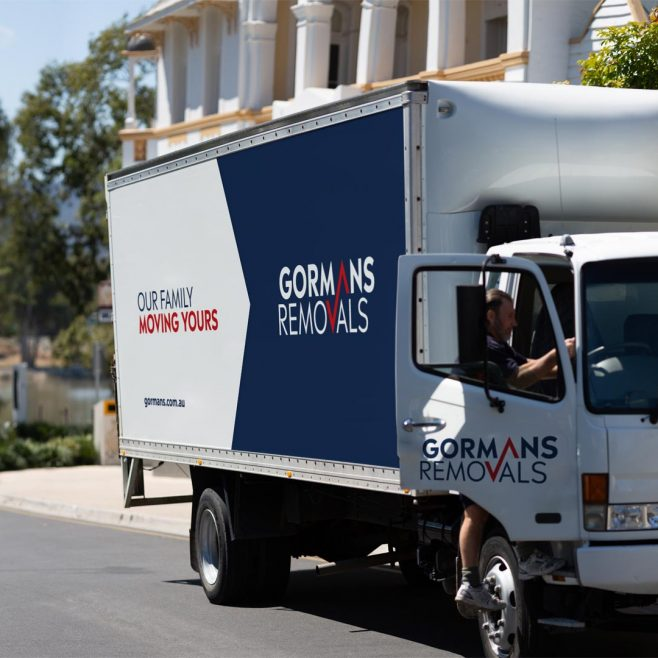 Gormans Removals Rockhampton, on-site vehicle photography Photography | FMSTUDIOS