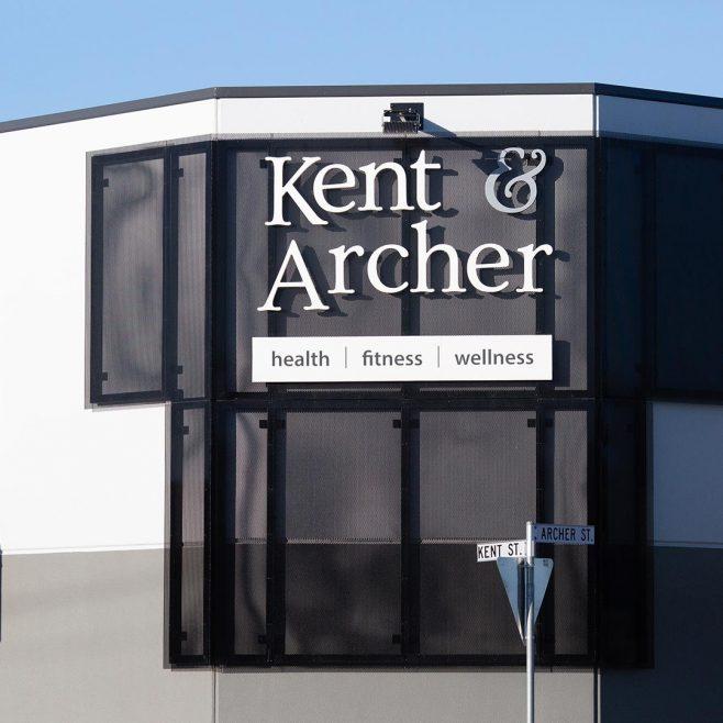 Kent & Archer Rockhampton, outdoor signage design Signage Design | FMSTUDIOS