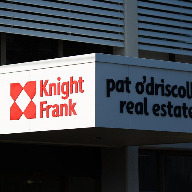 Knight Frank & Pat O'Driscoll Real Estate Signage Design | FMSTUDIOS