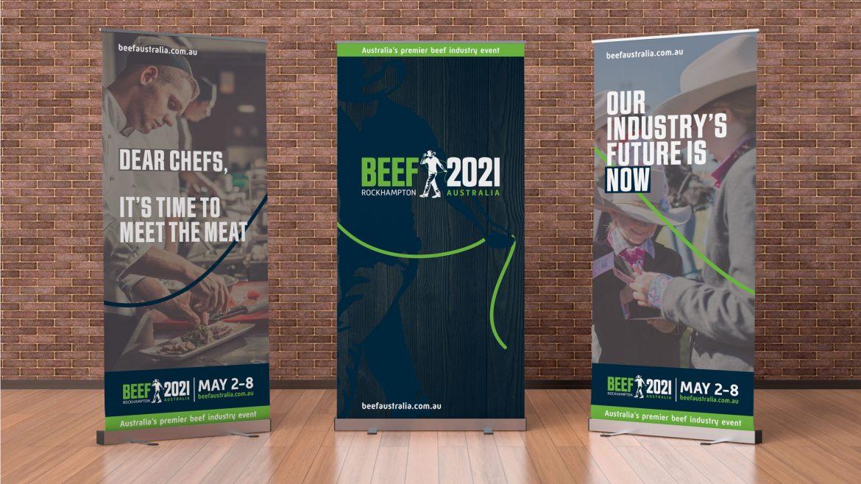 Beef Australia Pull-up Banner Design Rockhampton