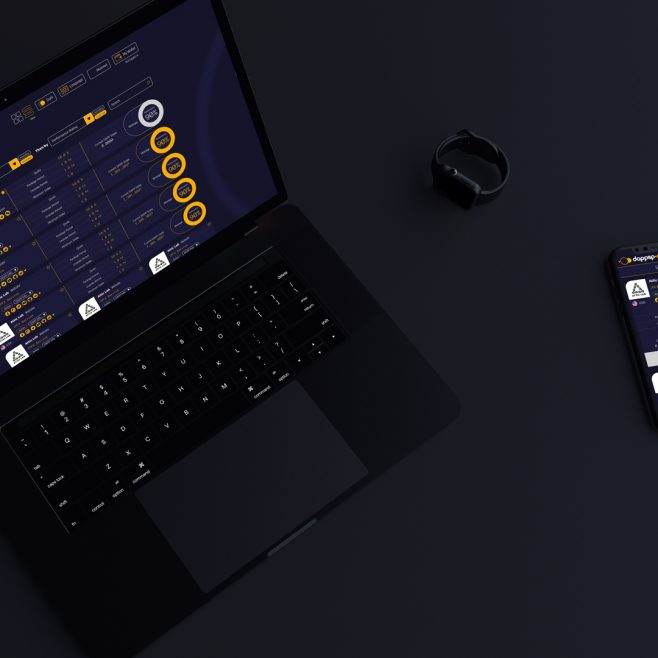 DAPPSP UI design Digital and Social Media | FMSTUDIOS
