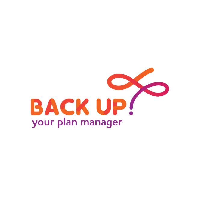 Back Up Your Plan Manager Bundaberg Business Logo Design | FMSTUDIOS