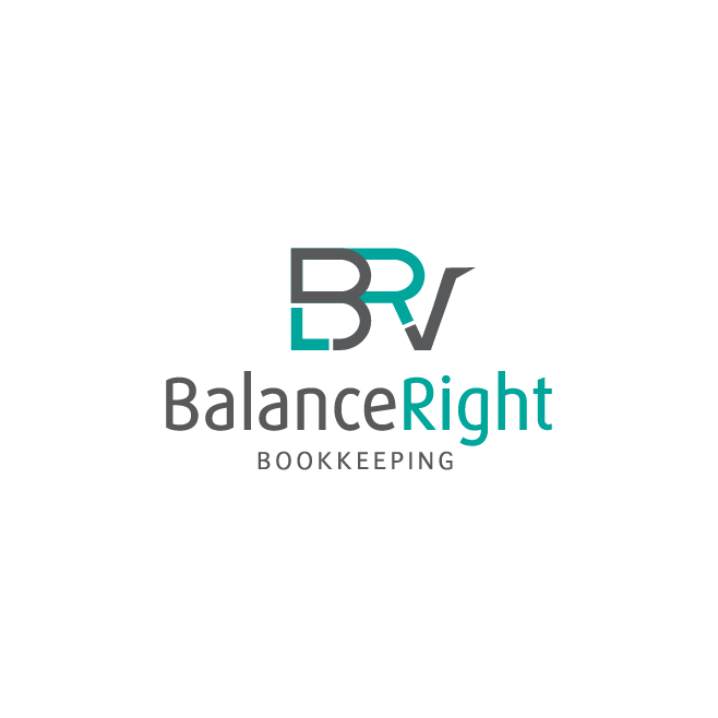 Balance Right Bookkeeping Logo Design | FMSTUDIOS