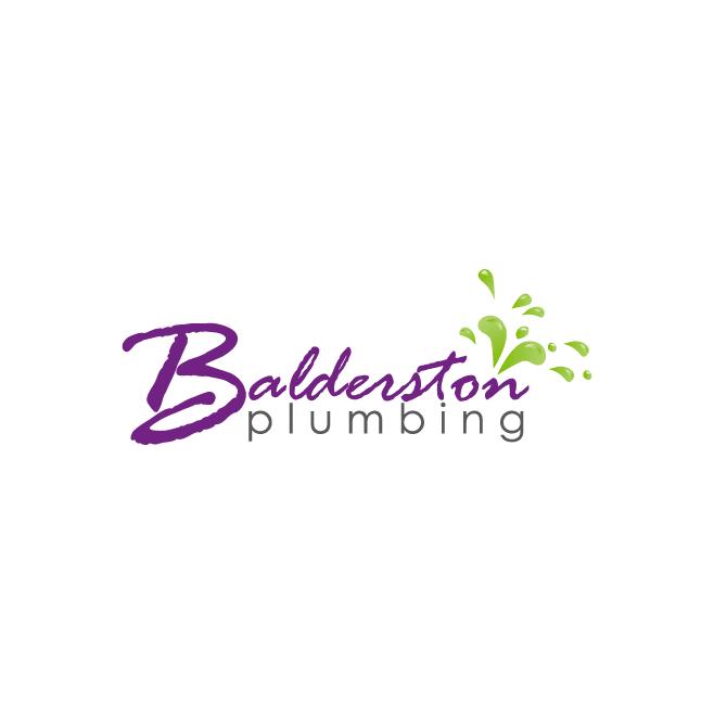 Balderston Plumbing Business Logo Design | FMSTUDIOS