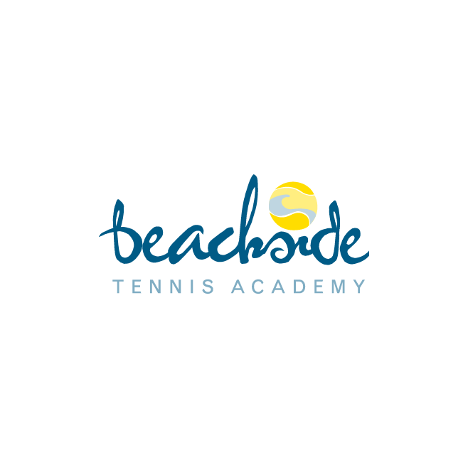 Beachside Tennis Academy Logo Design | FMSTUDIOS