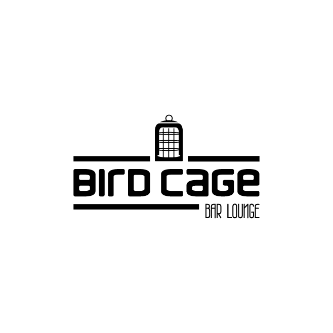 Bird Cage Bar Lounge Logo Design | FMSTUDIOS