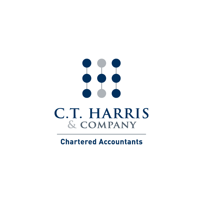 C.T. Harris & Company Chartered Accountants Logo Design | FMSTUDIOS