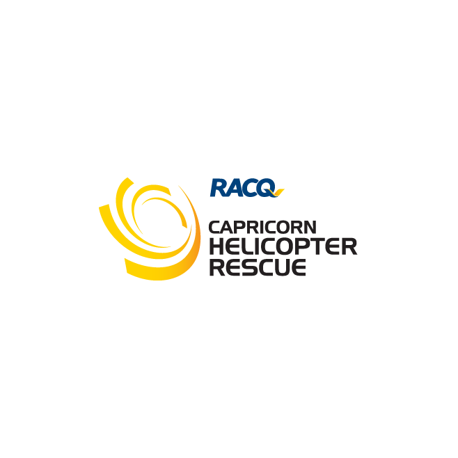 Capricorn Rescue Helicopter Logo Design | FMSTUDIOS