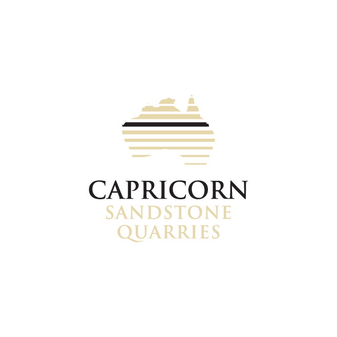 Capricorn Sandstone Quarries Logo Design | FMSTUDIOS