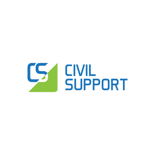 Civil Support Logo Design | FMSTUDIOS