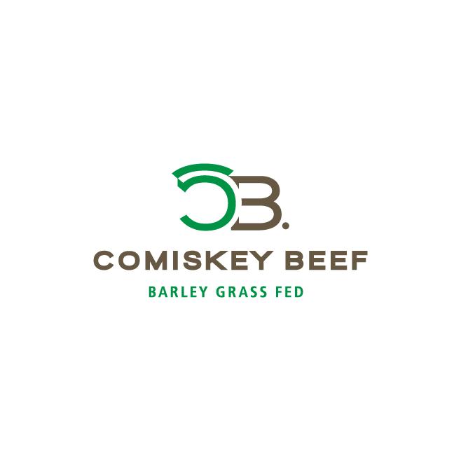 Comiskey Beef Business Logo Design | FMSTUDIOS