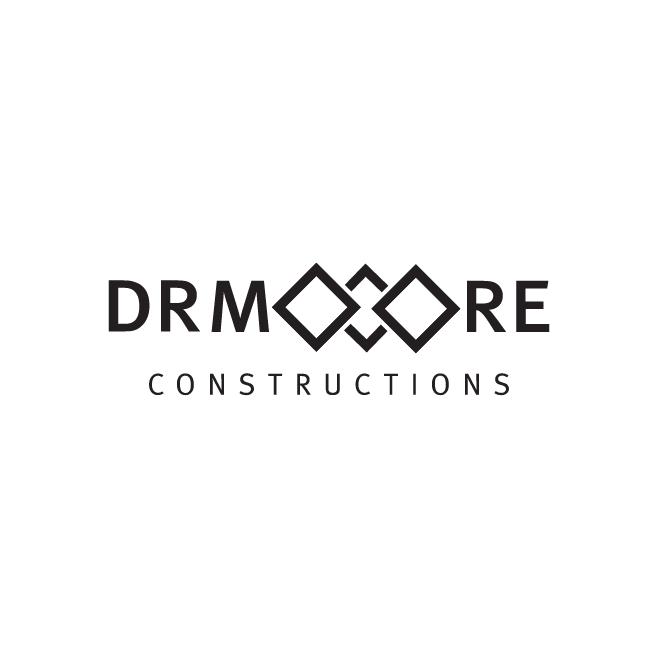 DR Moore Constructions Logo Design | FMSTUDIOS