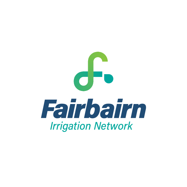 Fairbairn Irrigation Network Emerald Logo Design | FMSTUDIOS