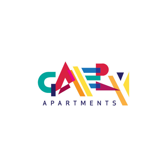 Gallery Apartments Logo Design | FMSTUDIOS