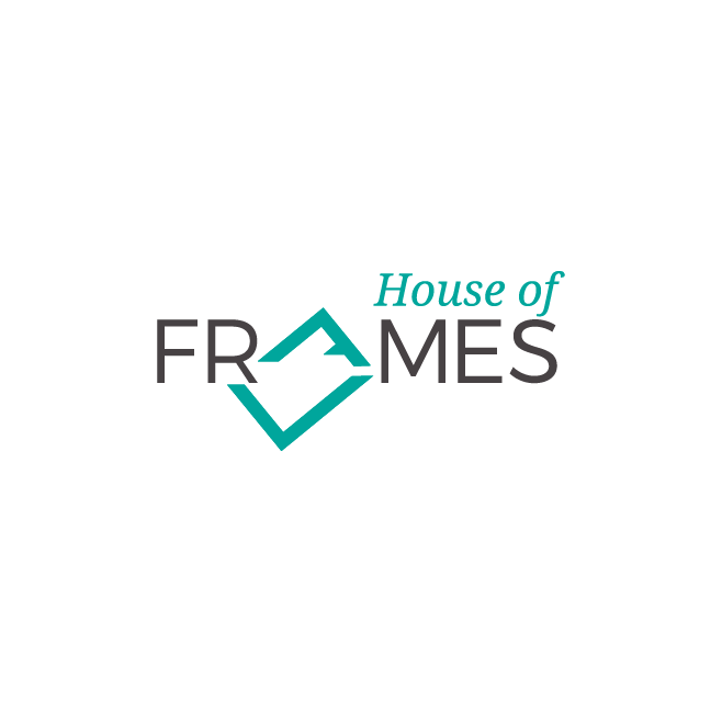 House of Frames Logo Design | FMSTUDIOS