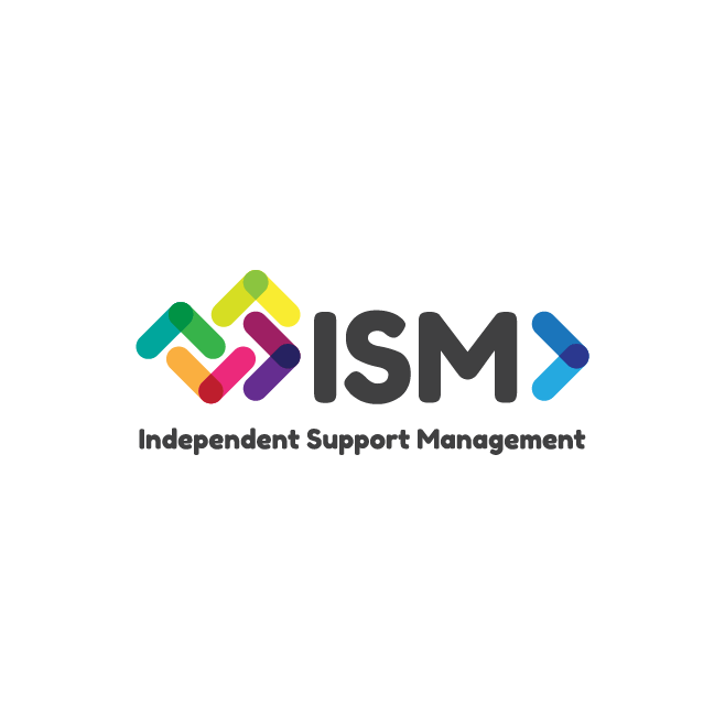 ISM - Independent Support Management Bundaberg and Rockhampton Logo Design | FMSTUDIOS