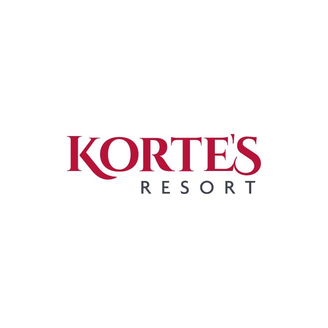 Korte's Resort Business Logo Design | FMSTUDIOS
