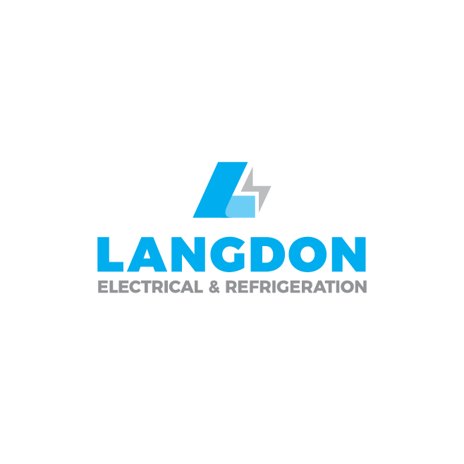 Langdon Electrical & Refrigeration Logo Design | FMSTUDIOS