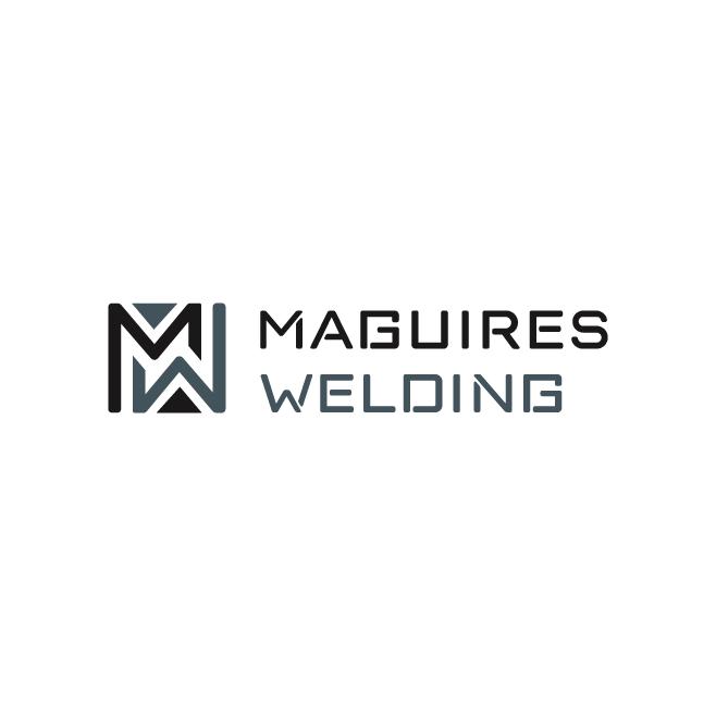 Maguires Welding Business Logo Design | FMSTUDIOS