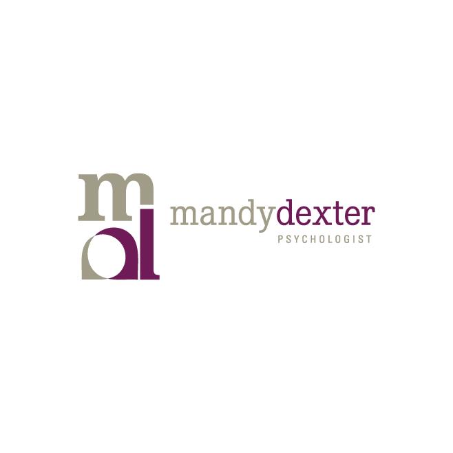 Mandy Dexter Psychologist Business Logo Design | FMSTUDIOS