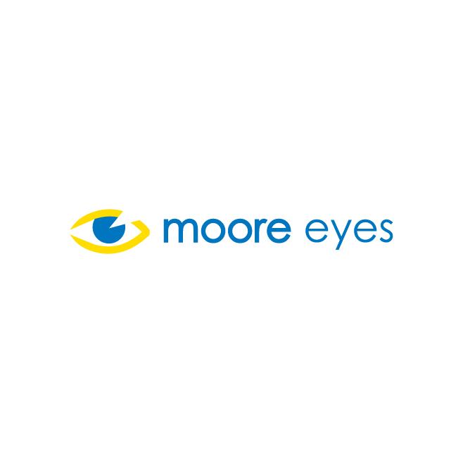 Moore Eyes Business Logo Design | FMSTUDIOS