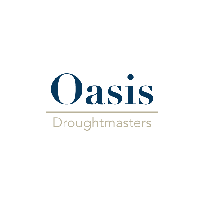 Oasis Droughtmasters Business Logo Design   FMSTUDIOS