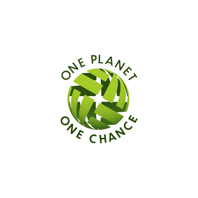 One Planet One Chance Business Logo Design | FMSTUDIOS