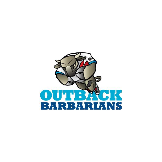 Outback Barbarians Logo Design | FMSTUDIOS