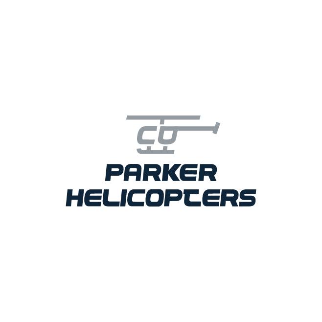 Parker Helicopters Business Logo Design | FMSTUDIOS